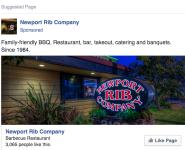 Restaurant Facebook Ad